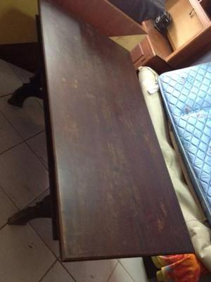 Mesa de jantar muito antiga para 6 cadeiras