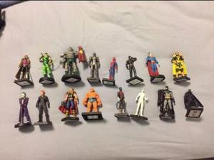 Coleção Action Figures Marvel e DC Comics