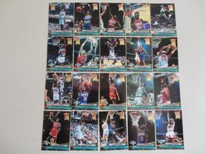 Coleção de Cards da NBA dos Anos 90