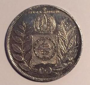 Coleção de moedas antigas nacionais e estrangeiras