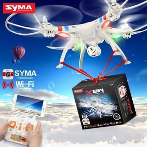 Drone Syma FPV Real Time X8W Wi Fi 2.4GHz 4 Canais/6 Eixos