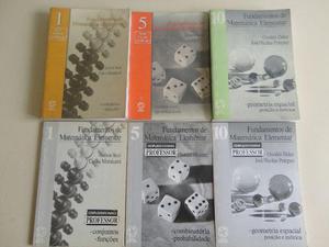 Livros da Coleção Fundamentos de Matemática Elementar +