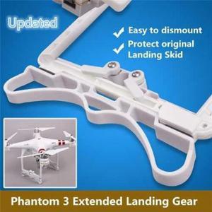 Trem de Pouso Drone Phantom 3 Extensão Amortecedor