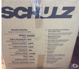Gerador Gasolina - Schulz