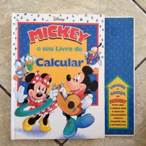 Livro Mickey E Seu Livro De Calcular Disney