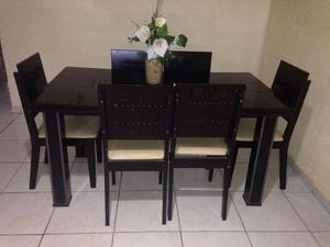 Mesa de jantar 6 lugares