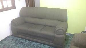 Sofa 2 e 3 lugares lindo na cor verde sem rasuras