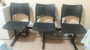 Venda - conjunto de cadeiras (longarinas)