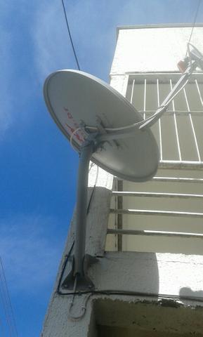 Antena sky retiro e entrego