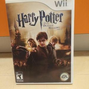 Jogo Nintendo wii harry potter and the deathly hallows part