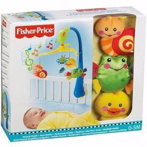 Móbile Musical Sapo, Pato E Caracol Fisher Price Mattel