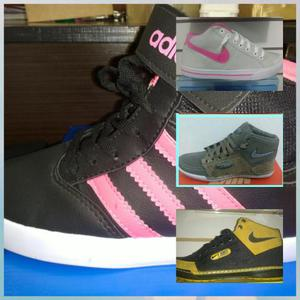 Tênis Adidas, Nike e Everlast tops