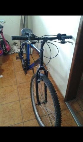 Bicicleta aro 26 caloi 21marchas ac celular vídeo game