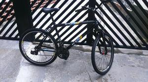 Bicicleta de alumínio 18 marchas com aro aero