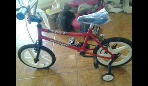 Bicicleta infantil 16 bmx nova sem uso ac celular