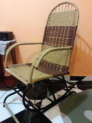 Cadeira de balanço com mola novinha