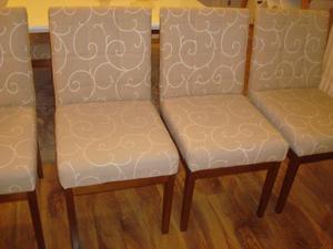 Cadeiras para mesa de jantar em ótimo estado