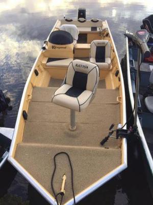 Ainda não possui seu barco de pesca? Kit Completo