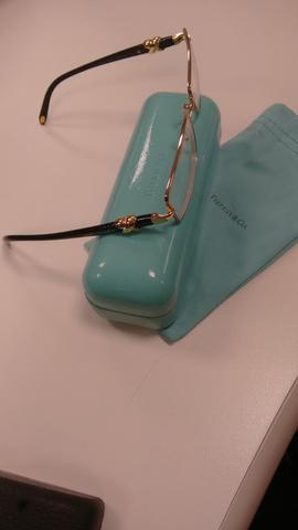296bd64a47cfa Armação de óculos de grau tiffany original como novo
