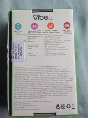 Celular Vibe c2 NOVO