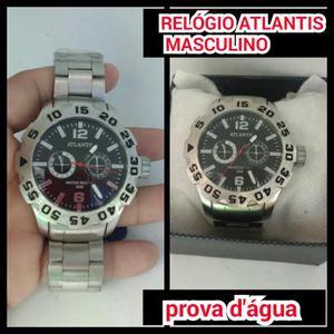a0f6824353e Relógio atlantis masculino pratiado. Relógio atlantis masculino pratiado.  Vendo esse lindo relÓgio atlantis masculino primeira linha pratiado original  prova ...