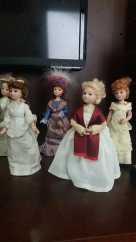 Bonecas de porcelana- Damas de época