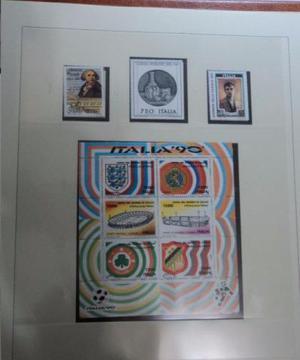 Coleção de Selos - Todos os tipos