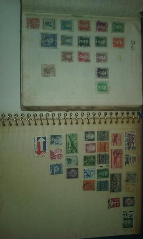 Coleção de selo postal