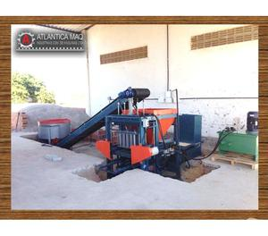 Maquina de Blocos e Pavimentos Hidraulica - Atlantica Maq