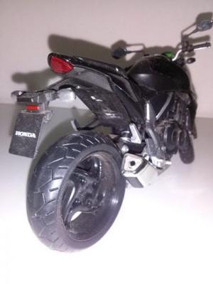 Miniatura Moto Honda Cbr Preta