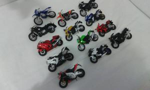 Miniaturas de moto 1/18