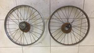Rodas Caloi Berlineta aro 20 (Bicicleta Antiga)