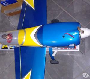 COMBO Aeromodelo EXTRA 300SP Motor OS 4 Tempos e Acessórios
