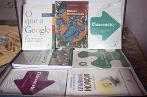 Coleção de livros de Administração da mundial editora