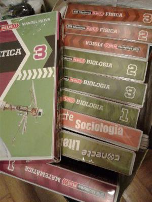 Coleção livros matemática, física,