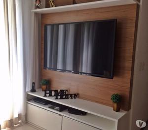 Hack para sala com Painel de TV e gaveteiro