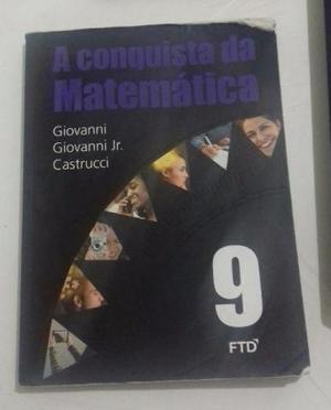 Livro A Conquista da Matemática (9° ano)