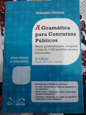 Livro: A Gramática para Concursos Públicos