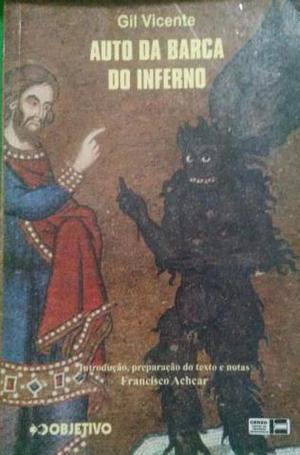 Livro: Auto Da Barca Do Inferno - Gil Vicente Objetivo