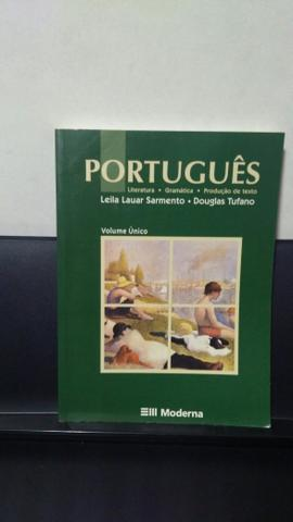 Livro Português, Volume Único (Editora Moderna)