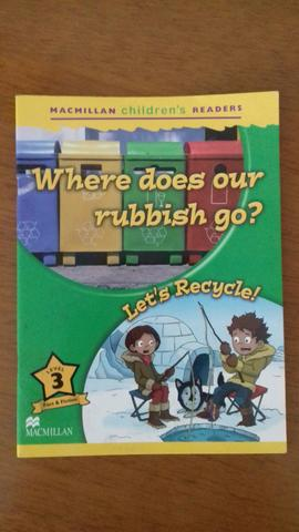 Livro Where does your rubbish go? Macmillan