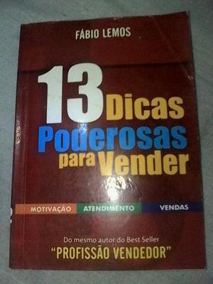 Livro dicas poderosas para vender