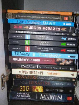 Livros usados bem conservados