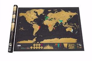 Mapa raspadinha Viagem pelo Mundo