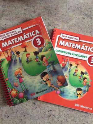 Matemática 3 + caderno de atividades (novos)