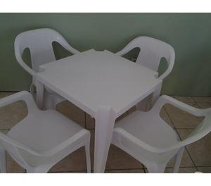 Mesas & Cadeiras certificadas para 182 kg direto da fabrica