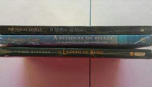 Promoção Três Livros por 30 Reais