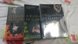 """Série trilogia """" o julgamento de Gabriel """"livros totalmente"""