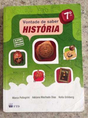 Vontade de saber História 7 usado