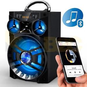 Caixa de Som Amplificada Bluetooth, USB, FM, MP3, Radio